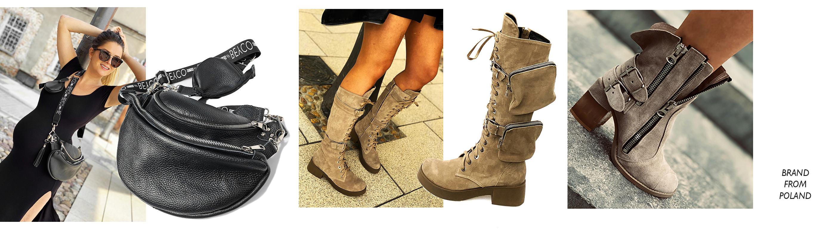Buty damskie ręcznie robione handmade shoes Sklep online